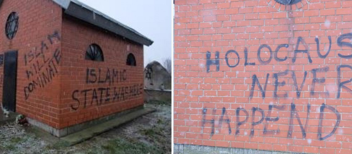 Jewish Cemetery In Poland Desecrated With Anti Semitic And Pro Isis