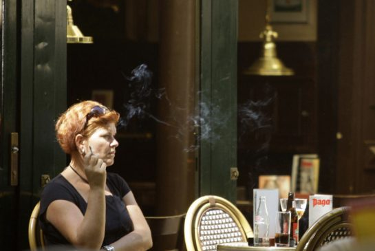 a paper on smoking in restaurants