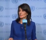 US Ambassador to UN Nikki Haley: Palestinians Must Stop Incitement, Engage in Direct Peace Talks With Israel