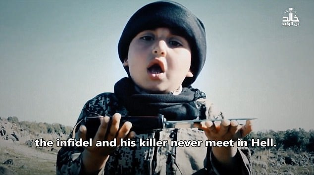 image from http://www.dailymail.co.uk/news/article-4420842/Islamic-State-s-six-year-old-executioner-Syria.html